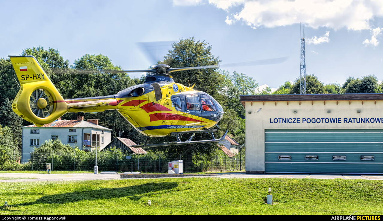 Polish Medical Air Rescue - Lotnicze Pogotowie Ratunkowe SP-HXY aircraft at Sanok