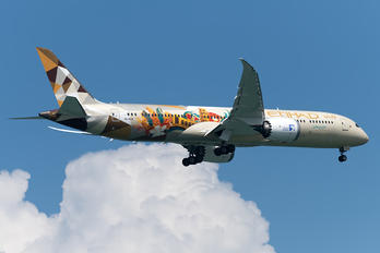 A6-BLH - Etihad Airways Boeing 787-9 Dreamliner