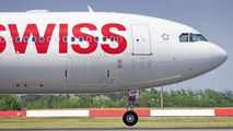 SWISS Airbus A330 visited Bucharest title=