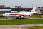 Luftwaffe Airbus A340 visited St. Petersburg title=