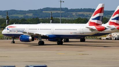 G-EUXD - British Airways Airbus A321