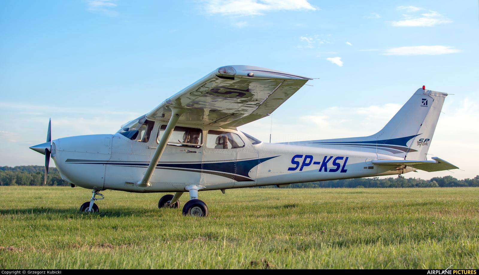 Aeroklub Śląski SP-KSL aircraft at Katowice Muchowiec