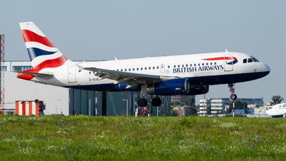 G-EUPN - British Airways Airbus A319