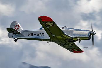 HB-RAM - Private Pilatus P-2