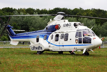 82+03 - Germany - Air Force Aerospatiale AS532 Cougar