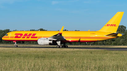 G-DHKS - DHL Cargo Boeing 757-200F
