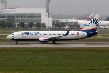 TC-SEE - SunExpress Boeing 737-800