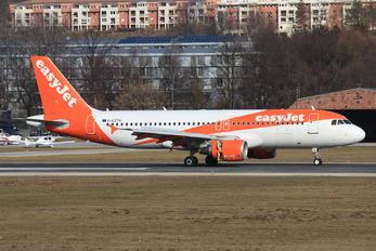 G-EZTH - easyJet Airbus A320