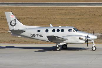 OE-FHL - Airlink Austria Beechcraft 90 King Air