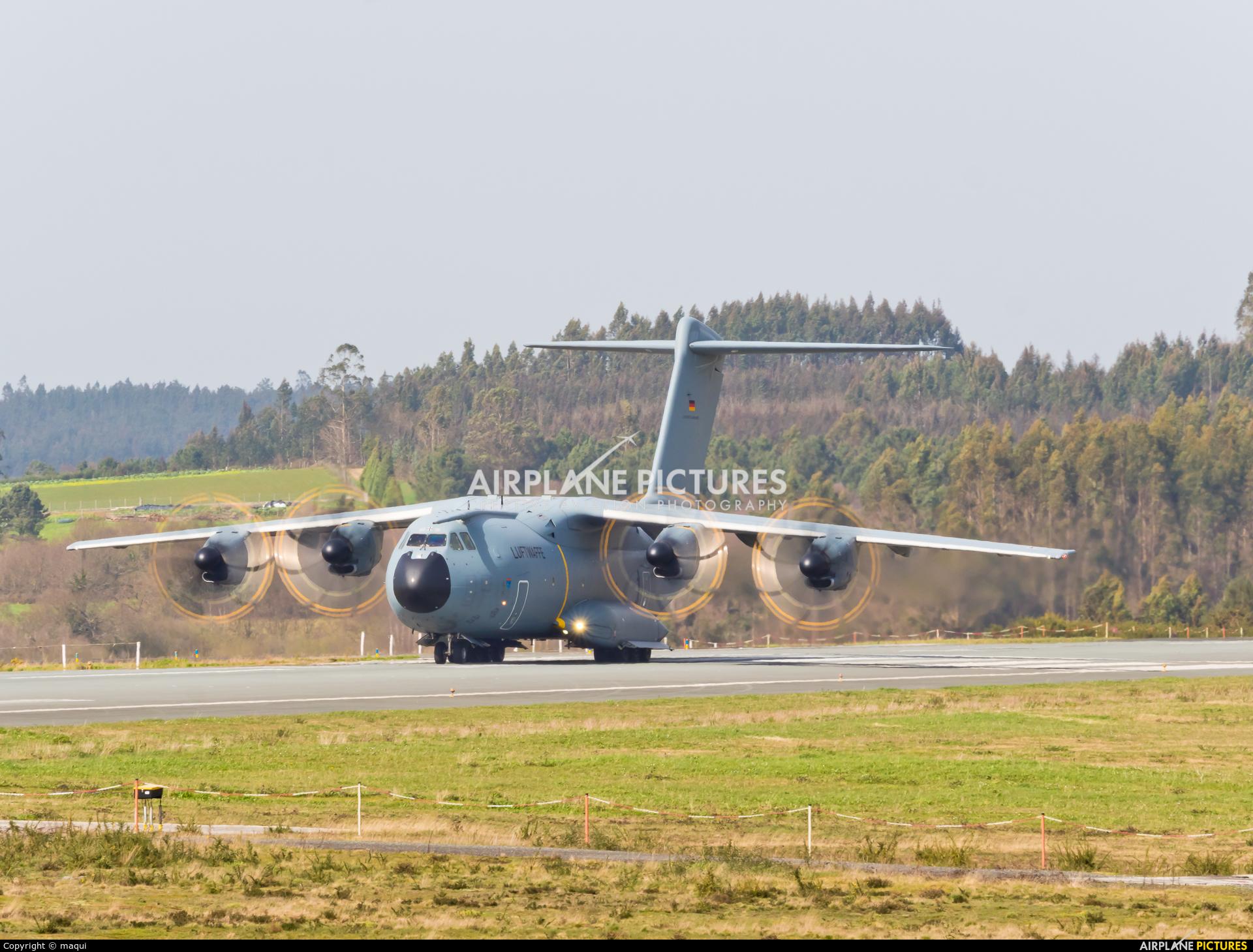 Germany - Air Force 54+25 aircraft at Santiago de Compostela