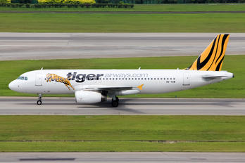 9V-TAM - Tigerair Airbus A320