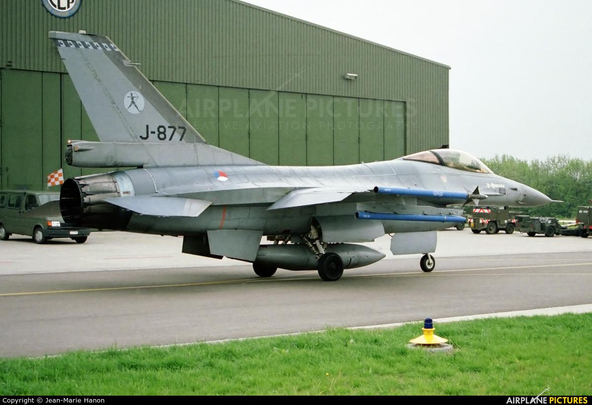 Netherlands - Air Force J-877 aircraft at Florennes