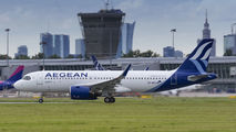 SX-NEC - Aegean Airlines Airbus A320 NEO aircraft