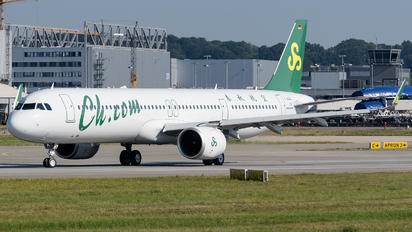 D-AZAU - Spring Airlines Airbus A321 NEO