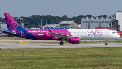 D-AVYL - Wizz Air Abu Dhabi Airbus A321 NEO