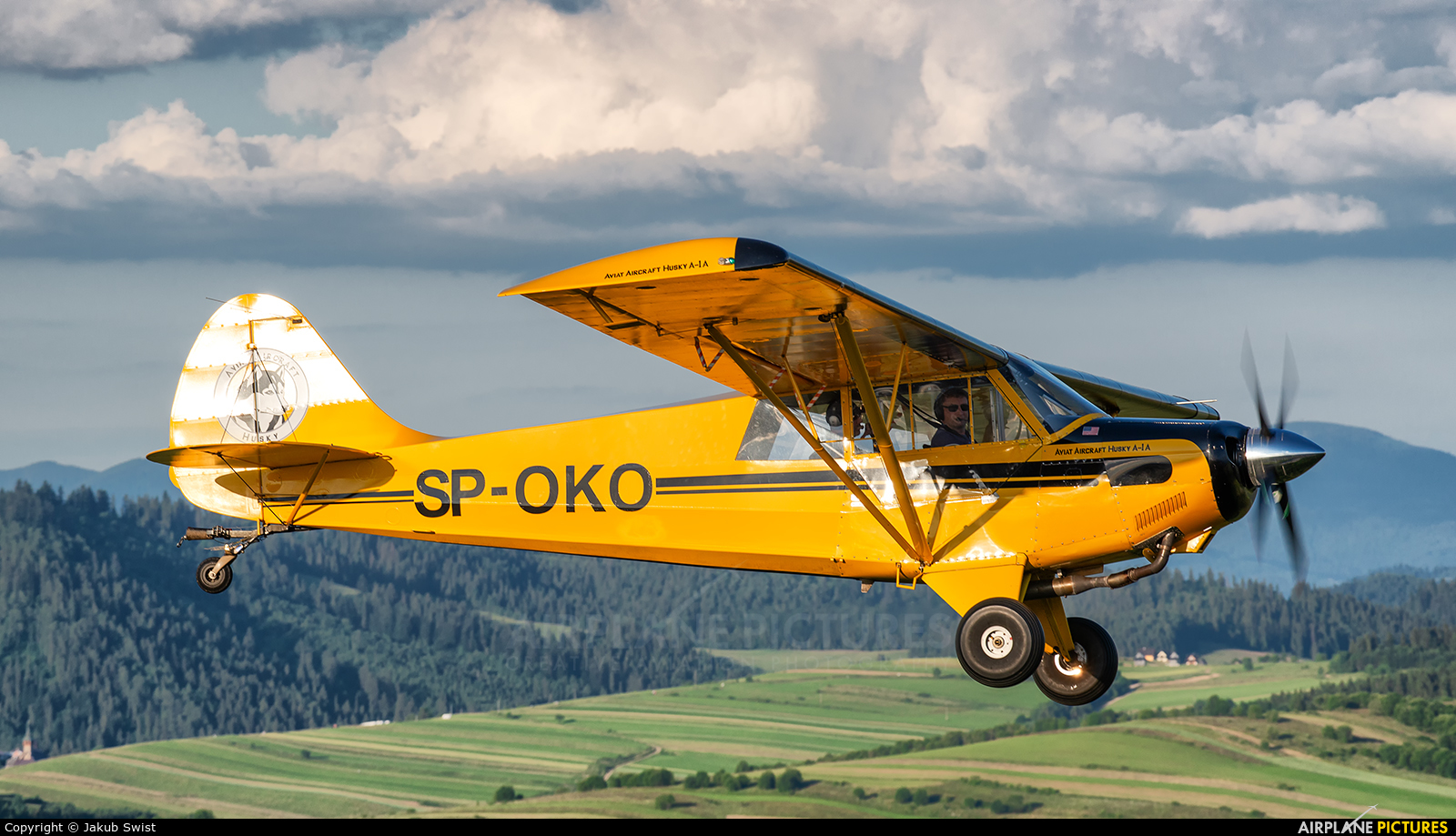 Aeroklub Nowy Targ SP-OKO aircraft at In Flight - Poland
