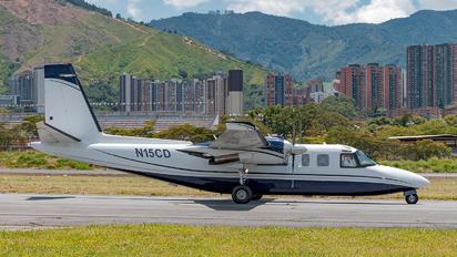 N15CD - Private Rockwell 690B Turbo Commander