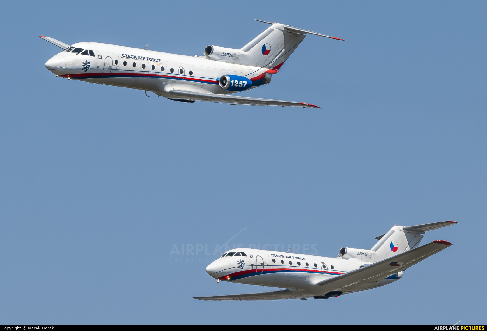 Czech - Air Force 1257 aircraft at Prague - Kbely