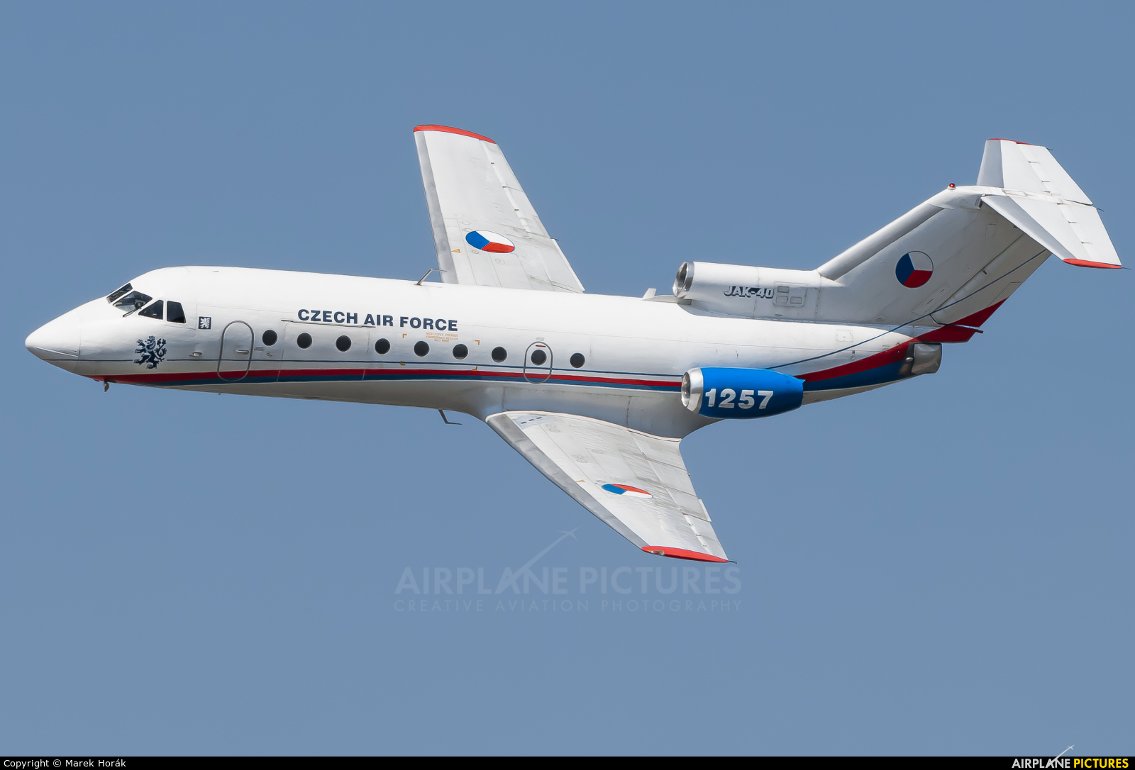 Czech - Air Force 1257 aircraft at Prague - Kbely