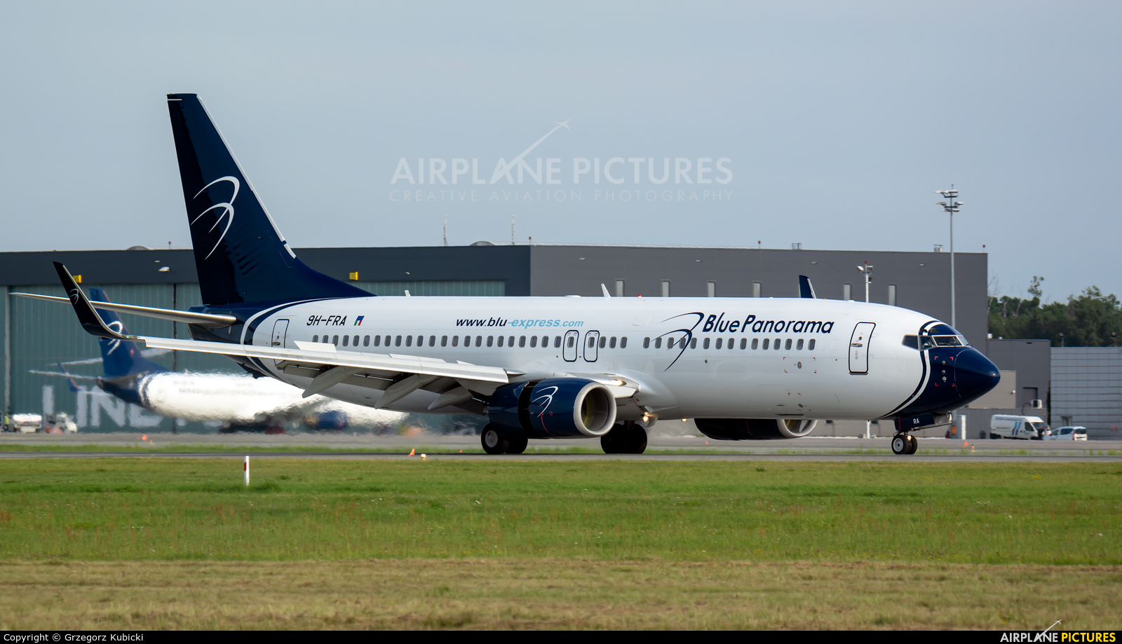 Blue Panorama Airlines 9H-FRA aircraft at Katowice - Pyrzowice