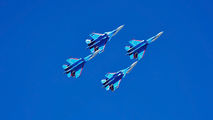 "- - Russia - Air Force ""Russian Knights"" Sukhoi Su-30SM aircraft"
