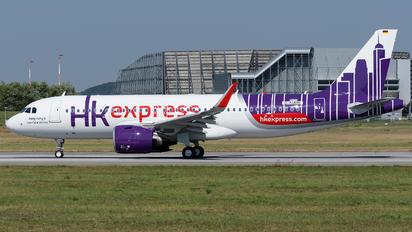 D-AUBN - Hong Kong Express Airbus A320 NEO