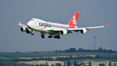 LX-MCL - Cargolux Boeing 747-400F, ERF