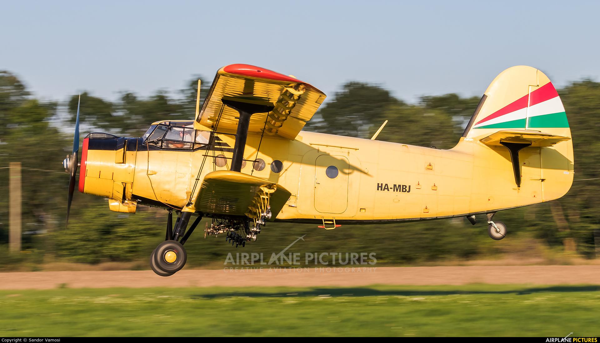 Private HA-MBJ aircraft at Off Airport - Hungary