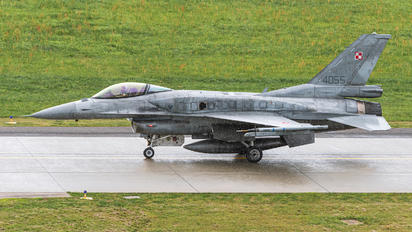 4055 - Poland - Air Force Lockheed Martin F-16C block 52+ Jastrząb