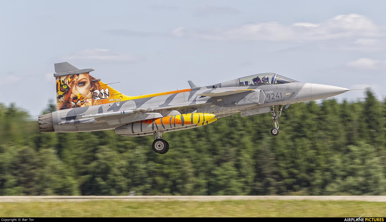 Czech - Air Force 9241 aircraft at Poznań - Krzesiny