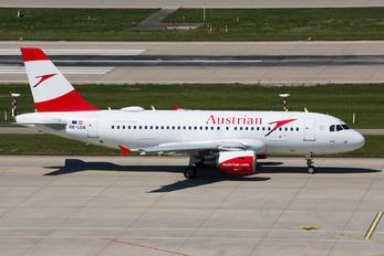 OE-LDA - Austrian Airlines/Arrows/Tyrolean Airbus A319
