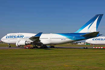 F-HSUN - Corsair / Corsair Intl Boeing 747-400