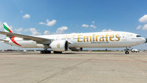 A6-EBU - Emirates Airlines Boeing 777-300ER aircraft
