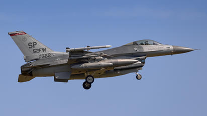 91-1352 - USA - Air Force Lockheed Martin F-16CJ Fighting Falcon