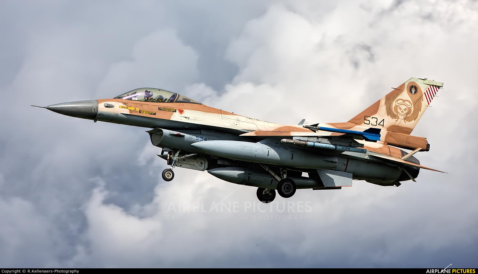Israel - Defence Force 534 aircraft at Nörvenich