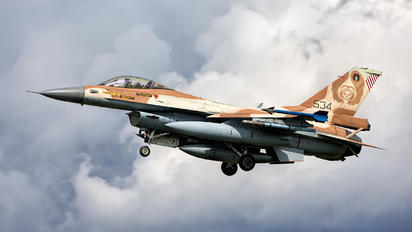 534 - Israel - Defence Force General Dynamics F-16C Barak