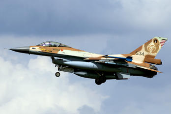 534 - Israel - Defence Force General Dynamics F-16C Barak