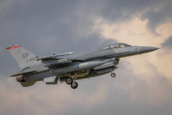 91-0418 - USA - Air Force General Dynamics F-16C Fighting Falcon