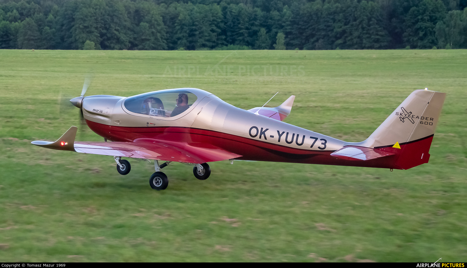 Private OK-YUU 73 aircraft at Rybnik - Gotartowice
