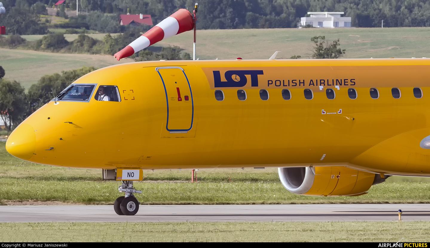 LOT - Polish Airlines SP-LNO aircraft at Kraków - John Paul II Intl