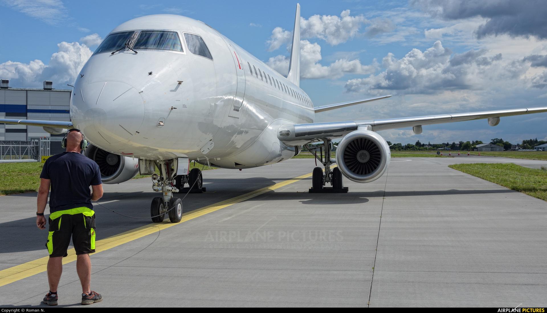 Nordic Aviation Capital OY-YDA aircraft at Bydgoszcz - Szwederowo
