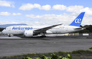 Air Europa Boeing 787 Dreamliner visited Guatemala La Aurora title=