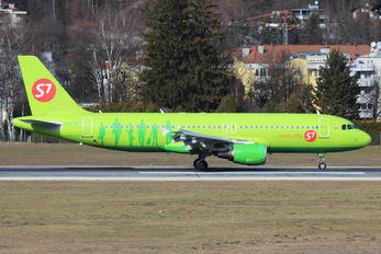 VQ-BET - S7 Airlines Airbus A320