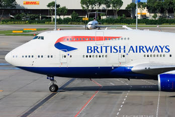 G-BYGA - British Airways Boeing 747-400