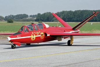 """MT-44 - Belgium - Air Force """"Les Diables Rouges"""" Fouga CM-170 Magister"""