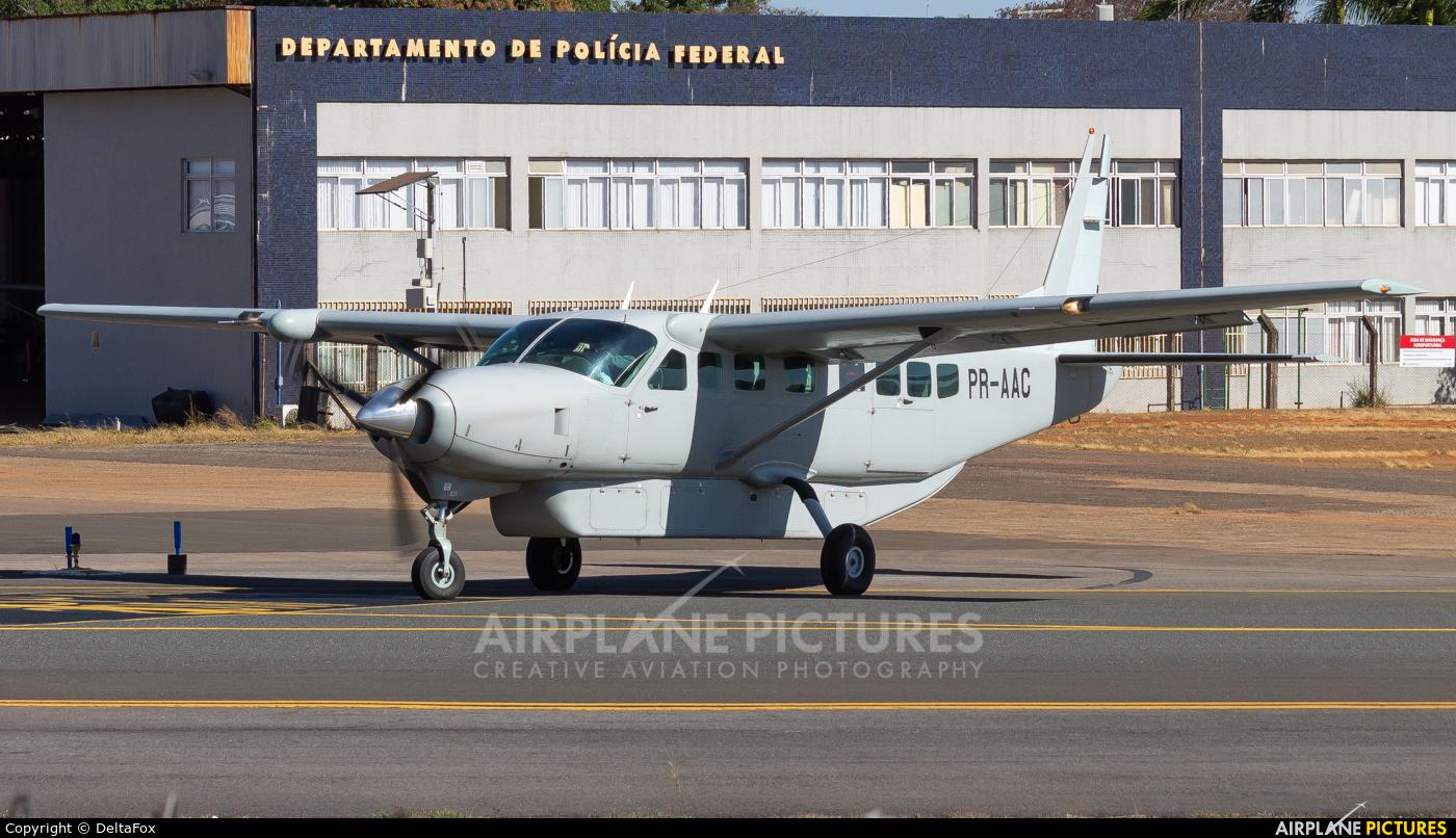 Brazil - Federal Police PR-AAC aircraft at Brasília - Presidente Juscelino Kubitschek Intl