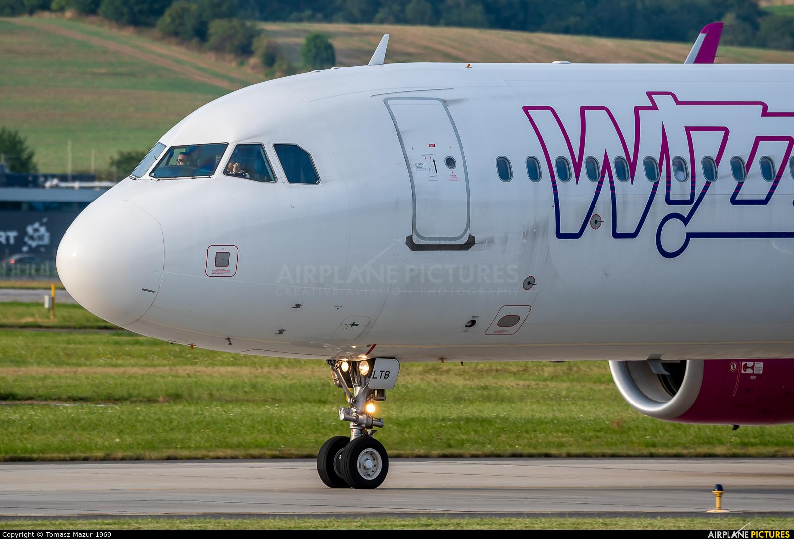 Wizz Air HA-LTB aircraft at Kraków - John Paul II Intl