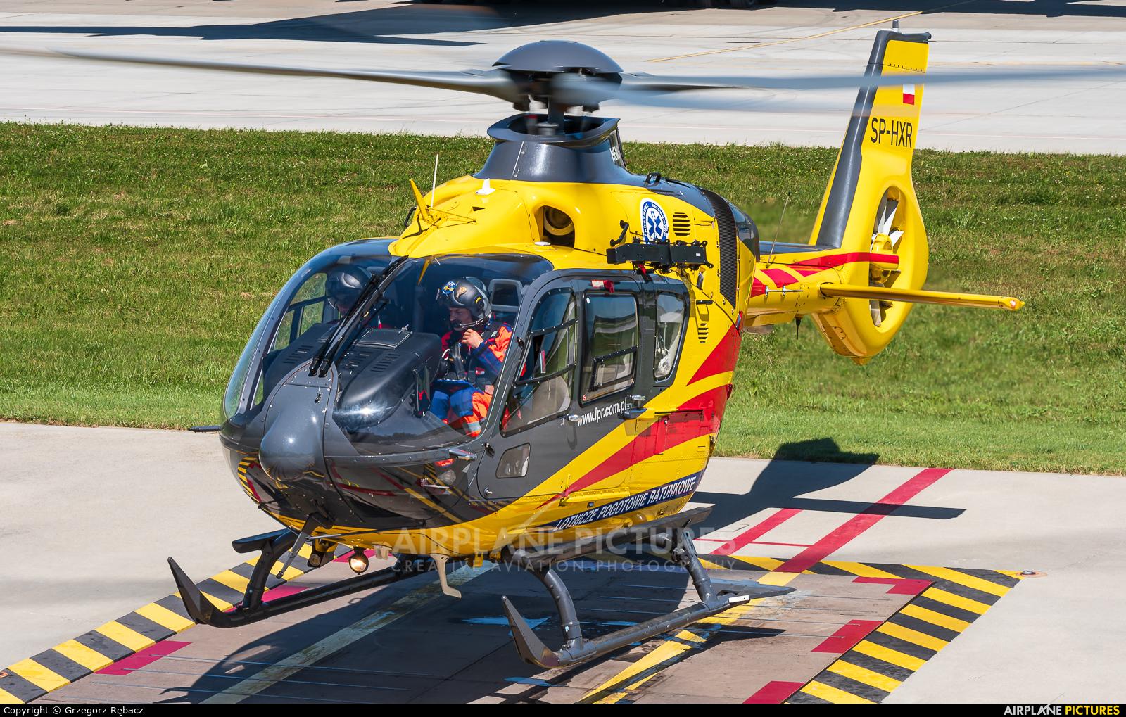 Polish Medical Air Rescue - Lotnicze Pogotowie Ratunkowe SP-HXR aircraft at Kraków - John Paul II Intl