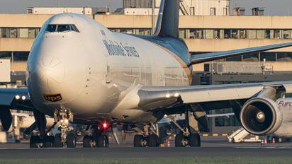 N572UP - UPS - United Parcel Service Boeing 747-400F, ERF