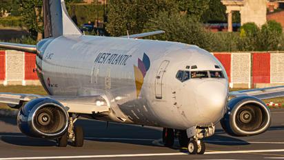 G-JMCZ - West Atlantic Boeing 737-400F